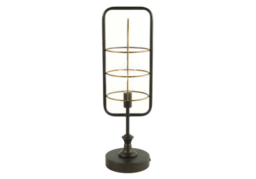 COUNTRYFIELD LAMP - LED HESSEL LARGE GRIJS