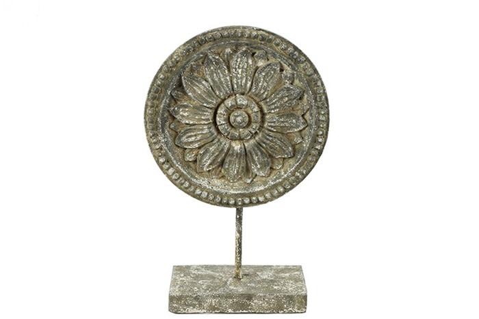 Ornament ro Incus S grijs