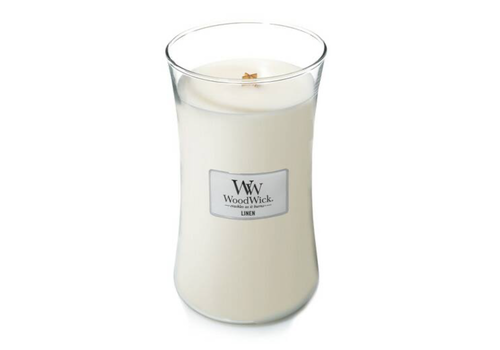 LINEN LARGE CANDLE