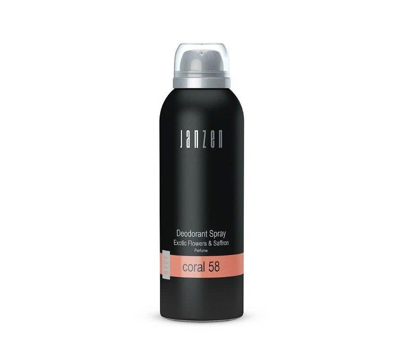 Deodorant spray - Coral 58