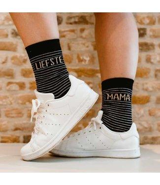 100% LEUK Sokken - Liefste mama