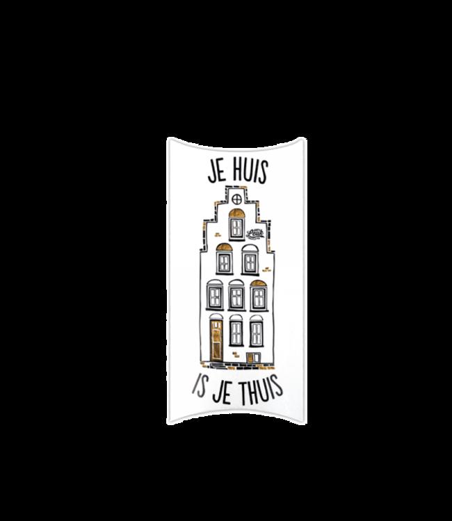 100% LEUK Cadeaudoos - Je huis is je thuis
