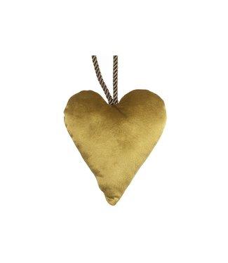 Hanger hart goud