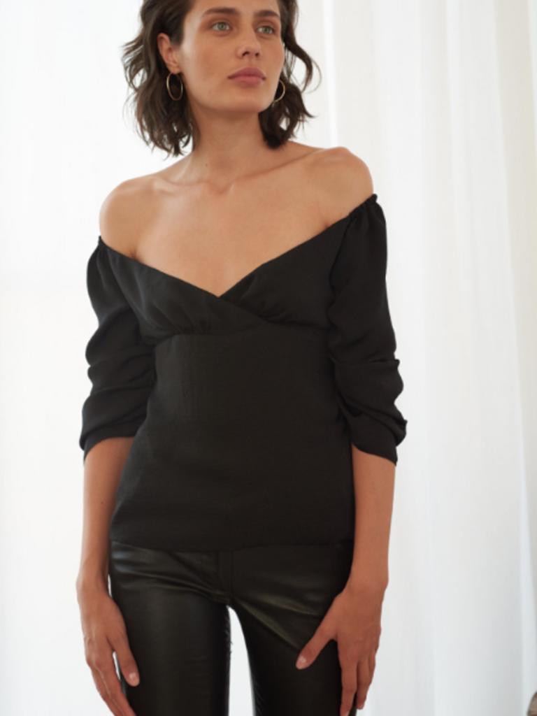 d09e0680805e black lou blouse - LIV - store