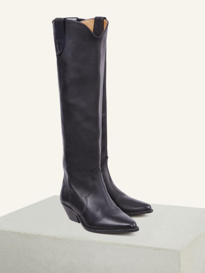 959f9e78b96 Black Leather Boots