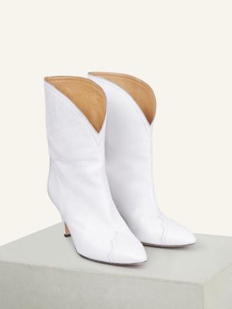 6fa5c2e3ec32e6 marant White Ankle Boots