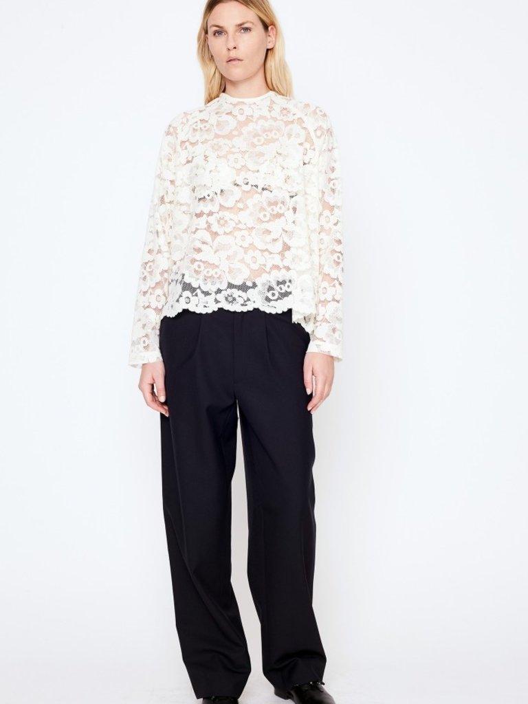 466a7a6b09065f White Lace Top - LIV - store