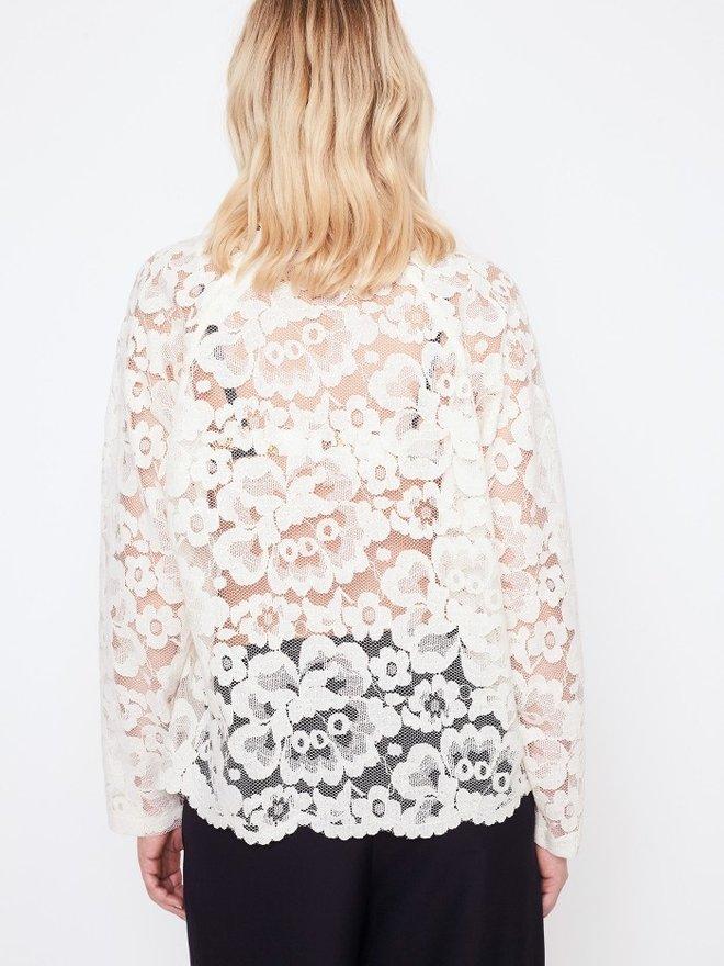 a565fea2f7d152 roseanna White Lace Top. Add to cart