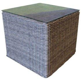 AVH-Collectie Bijzettafel 50x50xH45 cm grijs
