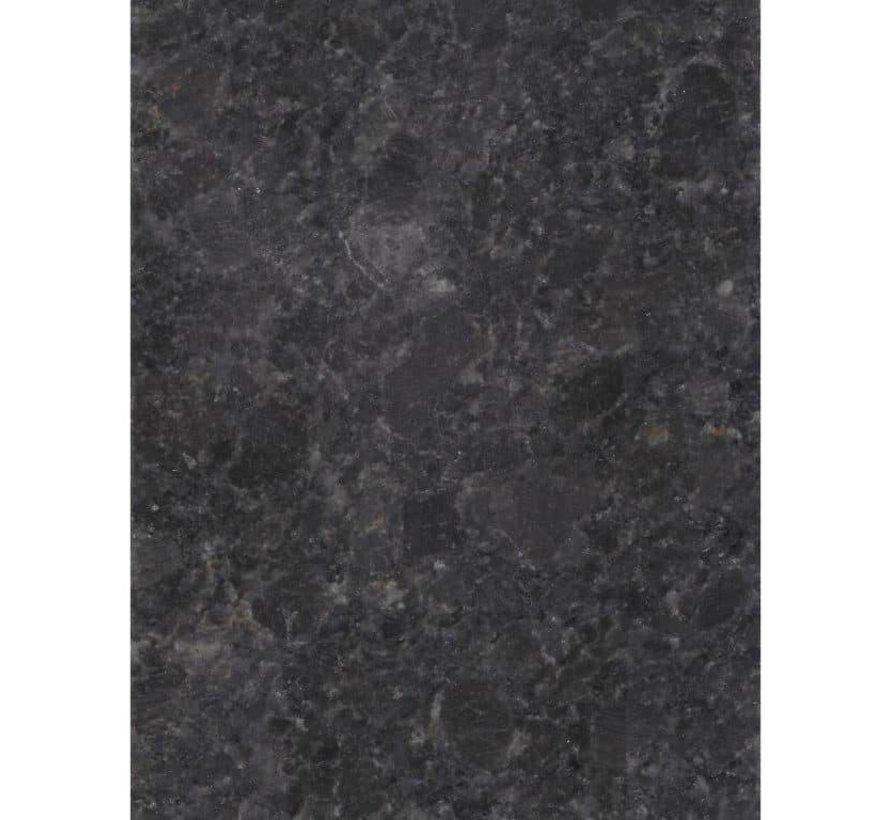 Blad 220x90 cm pearl black satinado 2 cm graniet