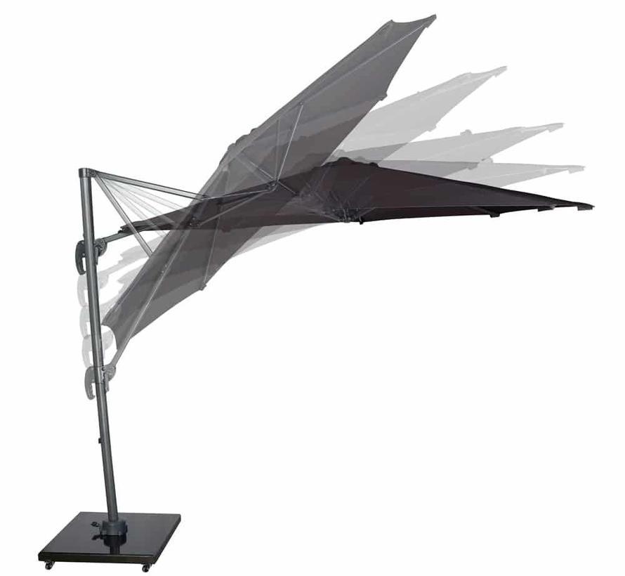 Falcon T1 zweefparasol 300 cm rond antraciet