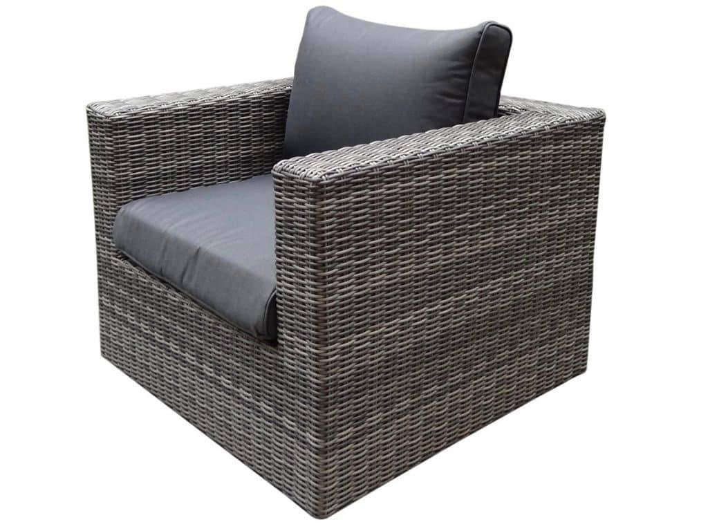 Ferro lounge tuinstoel grijs