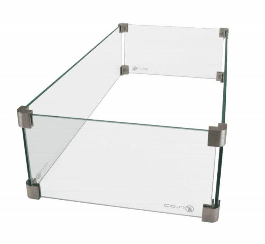 Cosi glasset rechthoek groot smal