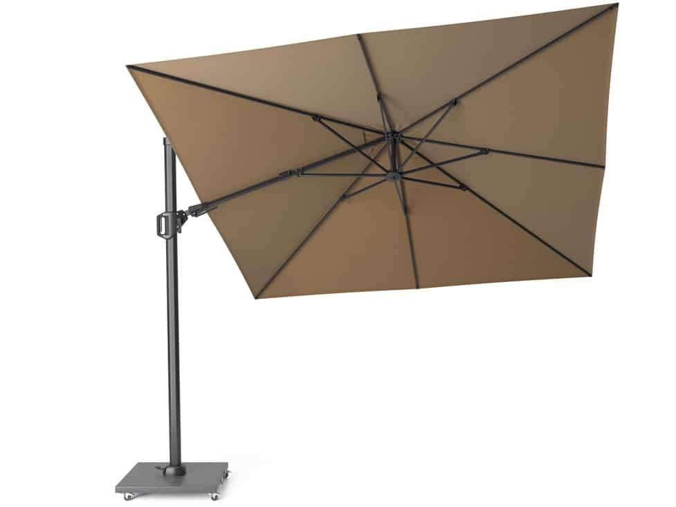 Challenger T2 zweefparasol 300x300 cm taupe