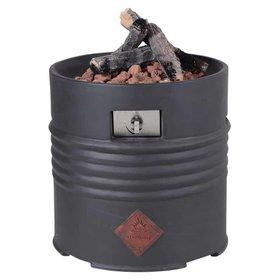 Garden Impressions Cozy Living sfeerhaard Barrel 60xH62 cm rond zwart