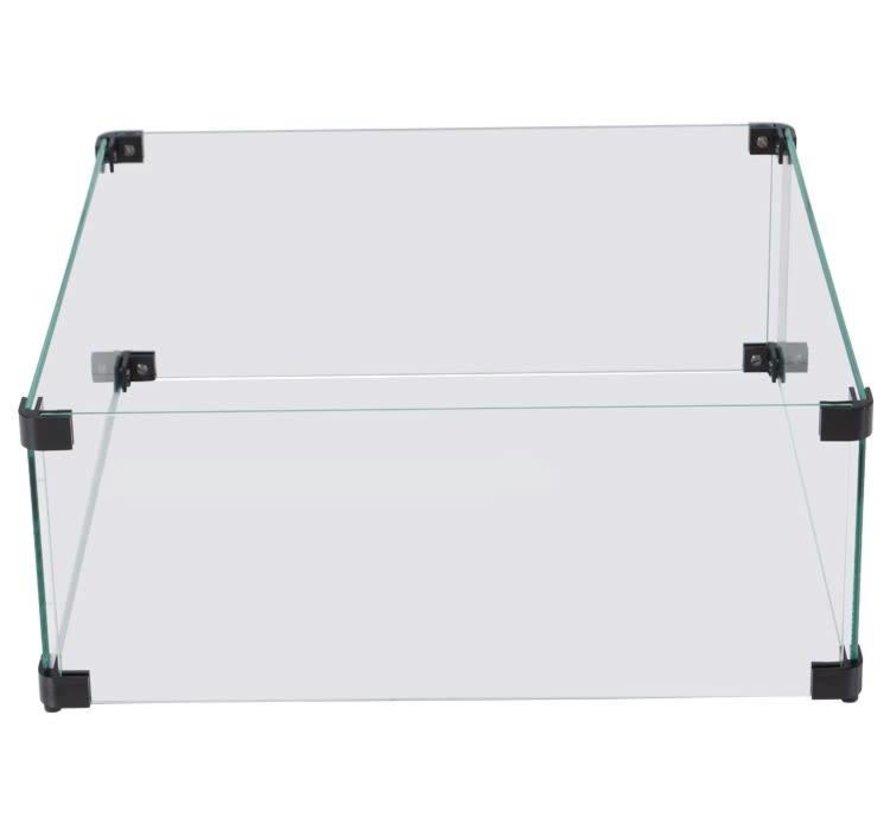Cozy Living glasset 5 mm – 52x52xH21 cm