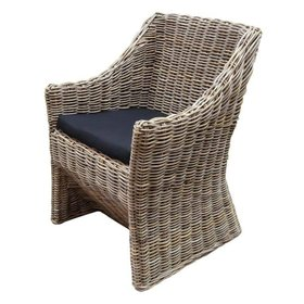 AVH-Collectie Kursi Louise dining tuinstoel naturel rotan