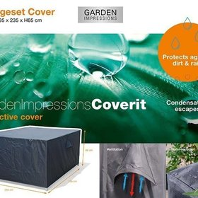 Garden Impressions Loungesethoes 235x235xH65 cm – Coverit