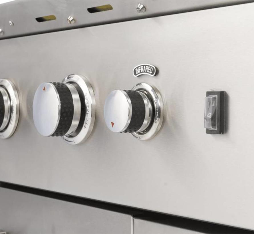 Luciano buitenkeukenmet koelkast Boretti