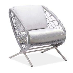 Higold Match lounge tuinstoel grijs
