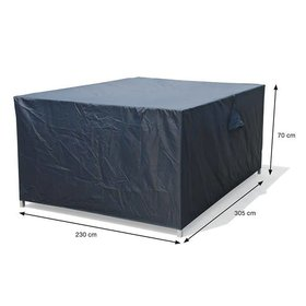 Garden Impressions Loungesethoes 305x305xH70 cm – Coverit