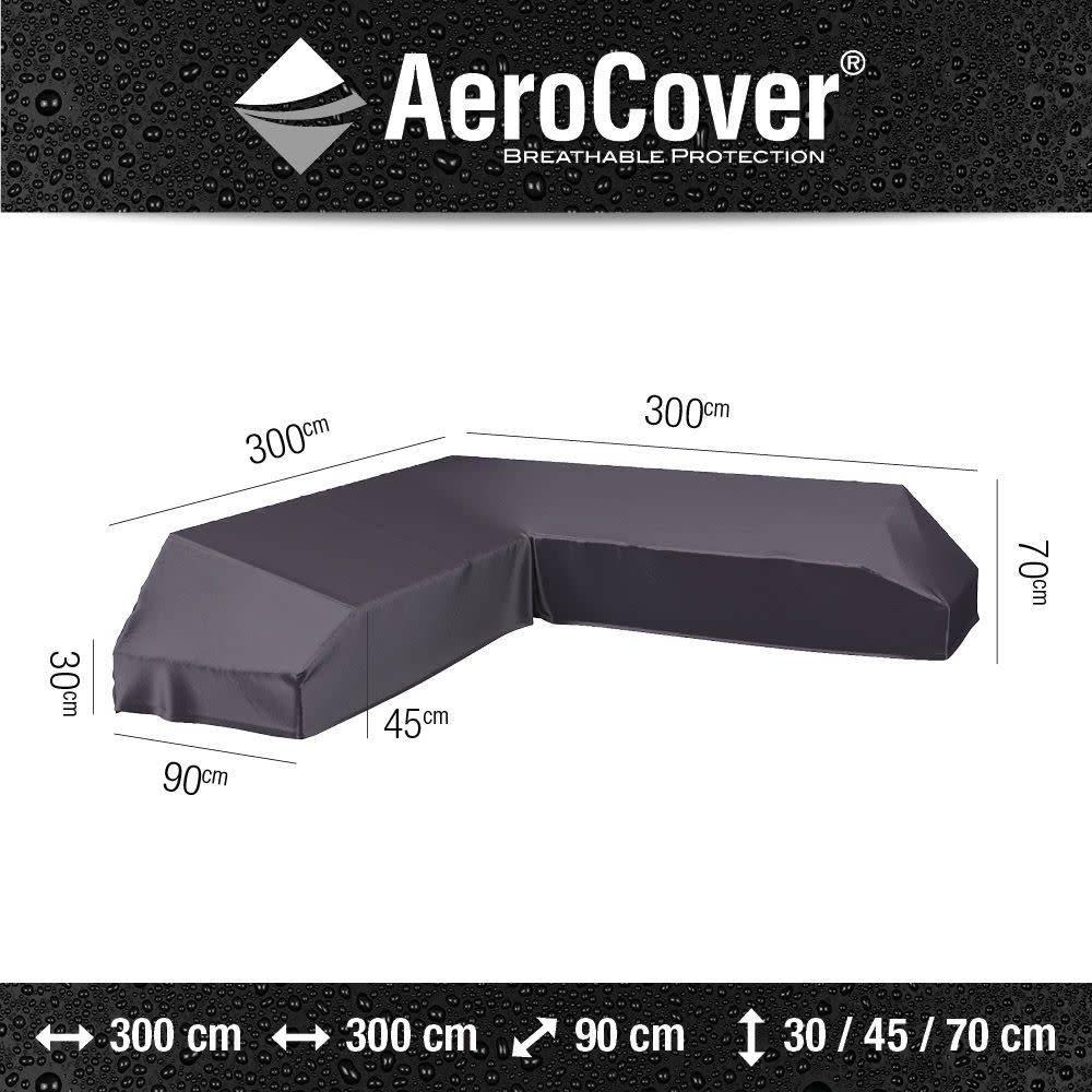 Platform loungesethoes 300x300x90xH30/45/70 cm? AeroCover