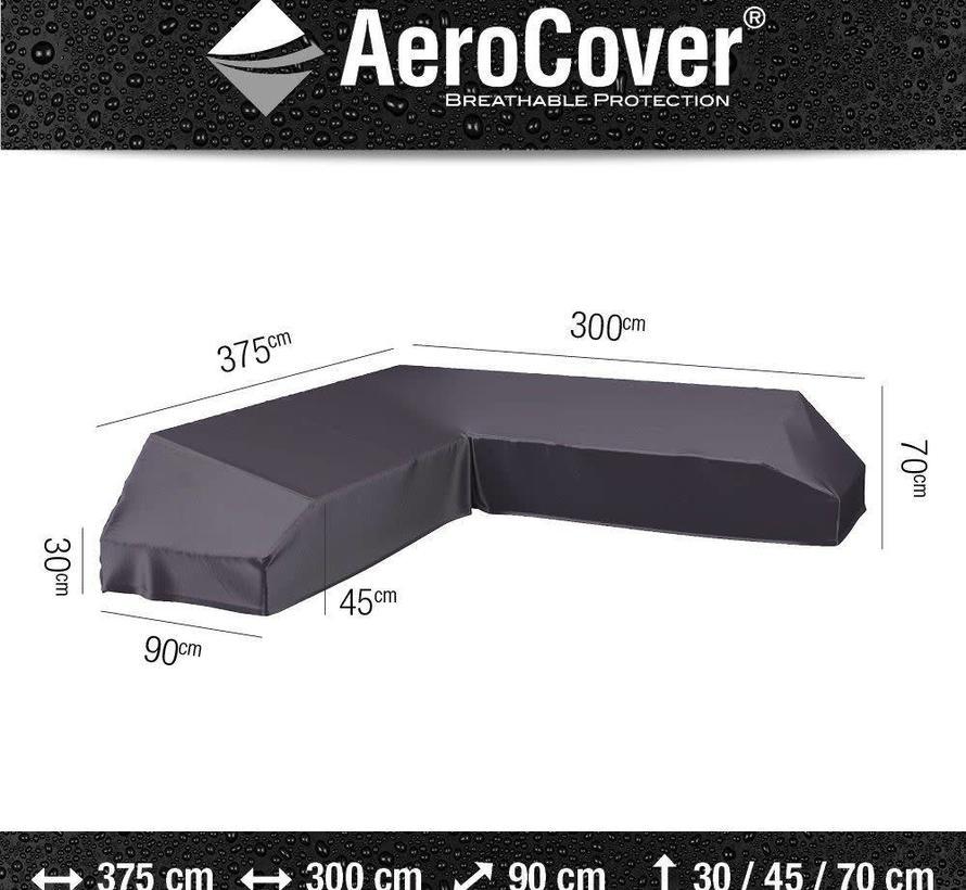Platform loungesethoes 375x300x90xH30/45/70 cm Rechts – AeroCover