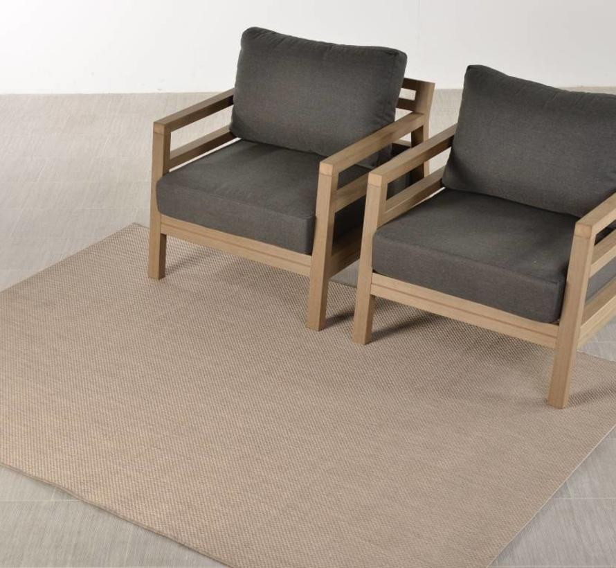 Portmany buitenkleed 160x230 cm taupe