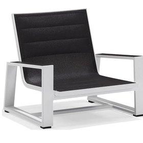 Higold York lounge tuinstoel aluminium wit