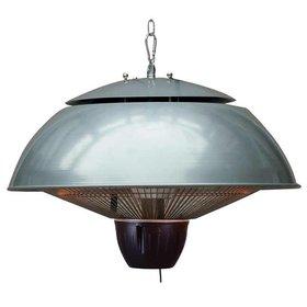 Garden Impressions Warmtelamp Bordeaux hangende heater 43 cm – aluminium grijs