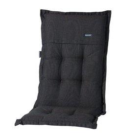 Madison Standenstoel hoge rug kussen 123x50 cm Rib black