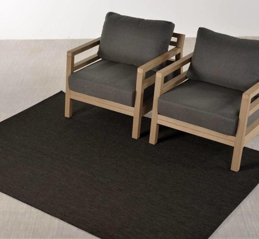 Portmany buitenkleed 160x230 cm zwart