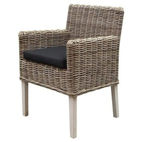 AVH-Collectie Reyhan dining tuinstoel naturel rotan