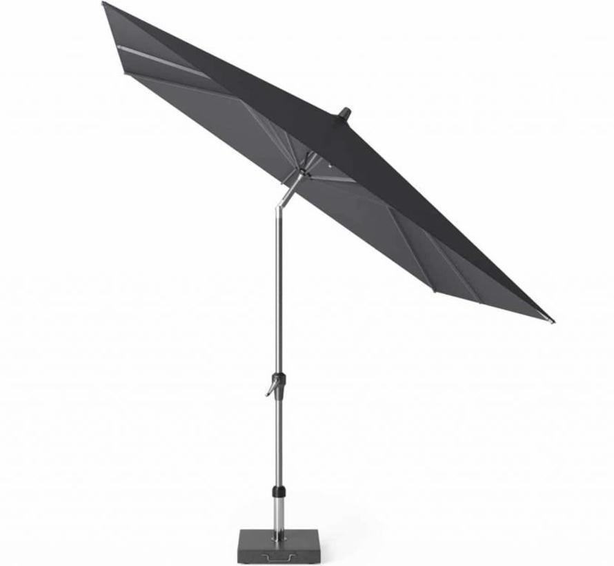 Riva parasol 250x250 cm antraciet met kniksysteem
