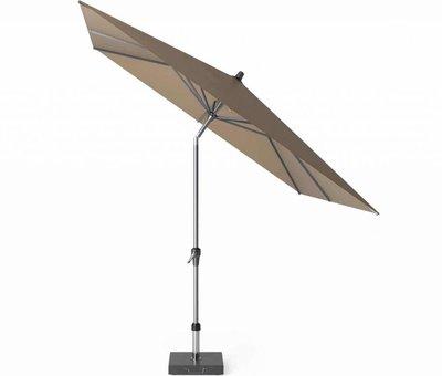 Platinum Riva parasol 250x250 cm taupe met kniksysteem