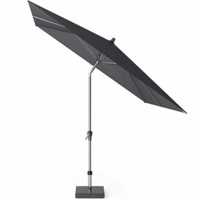 Platinum Riva parasol 250x250 cm zwart met kniksysteem