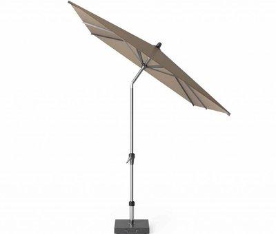 Platinum Riva parasol 300x200 cm taupe met kniksysteem