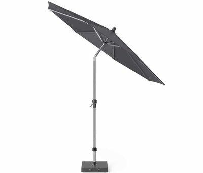 Platinum Riva parasol 250 cm rond antraciet met kniksysteem