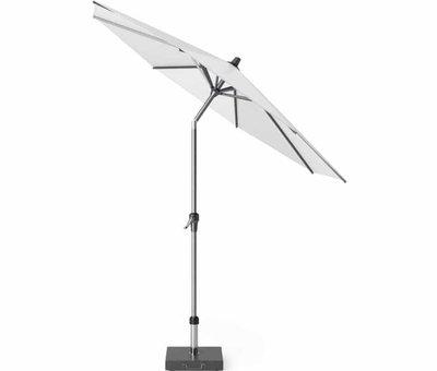 Platinum Riva parasol 250 cm rond wit met kniksysteem