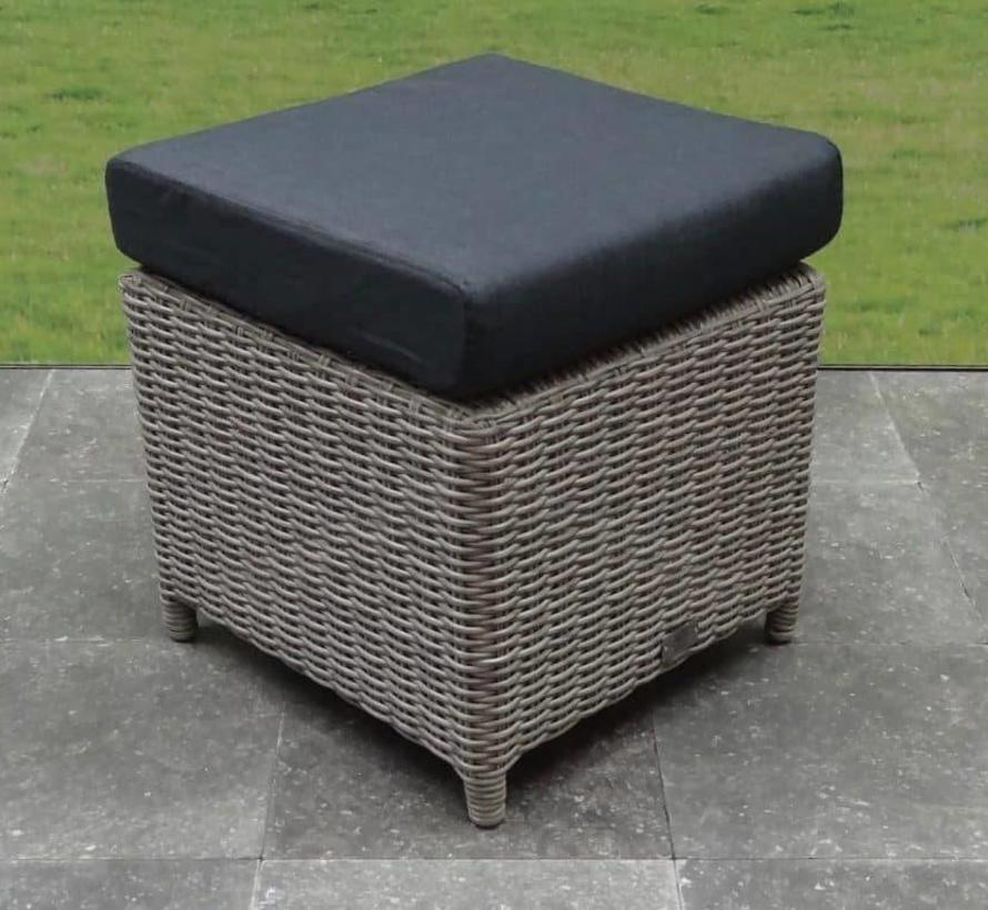 AVH Voetenbank 45x45xH45 cm grijs