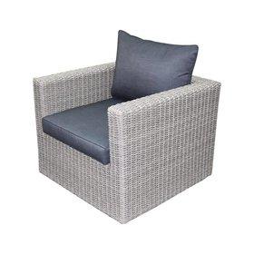 AVH-Collectie Patros lounge tuinstoel grijs
