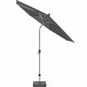 Platinum Riva parasol 270 cm rond antraciet met kniksysteem