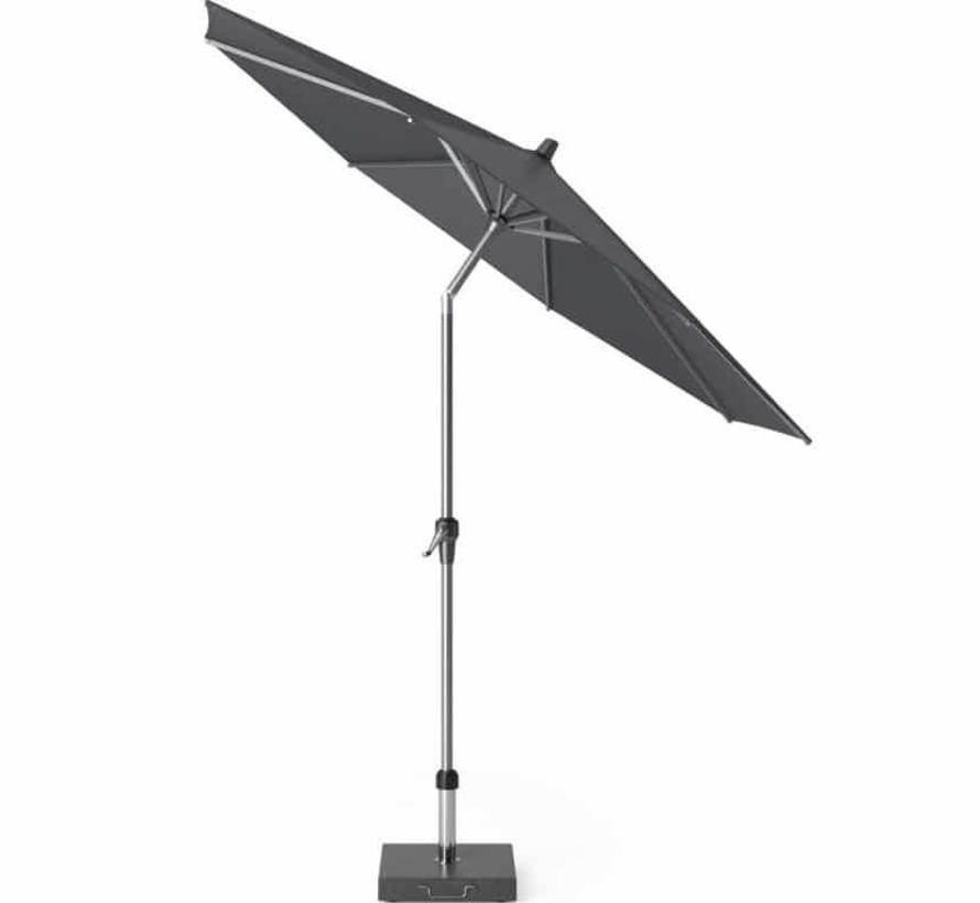 Riva parasol 270 cm rond antraciet met kniksysteem
