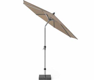 Platinum Riva parasol 270 cm rond taupe met kniksysteem