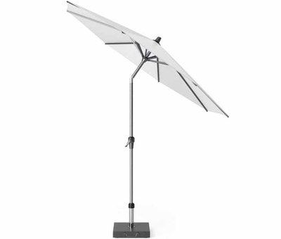 Platinum Riva parasol 270 cm rond wit met kniksysteem