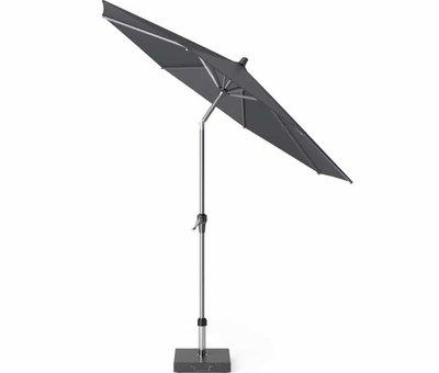 Platinum Riva parasol 300 cm rond antraciet met kniksysteem