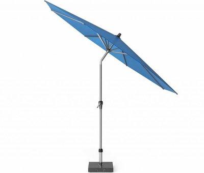 Platinum Riva parasol 300 cm rond blauw met kniksysteem