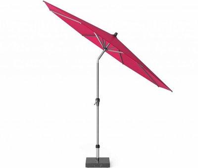 Platinum Riva parasol 300 cm rond fuchsia met kniksysteem