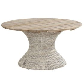 4 Seasons Outdoor Cricket dining tuintafel 130 cm rond Pure 4-Seasons Outdoor - outlet
