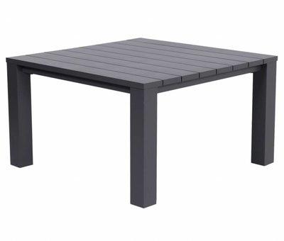 Garden Impressions Cube lounge-diningtafel 115x115xH68 cm aluminium antraciet